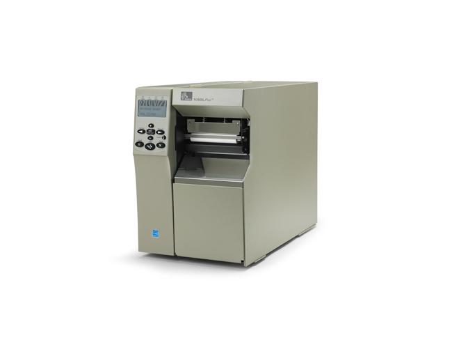 Zebra 105SLPlus Industrial Thermal Label Printer side view