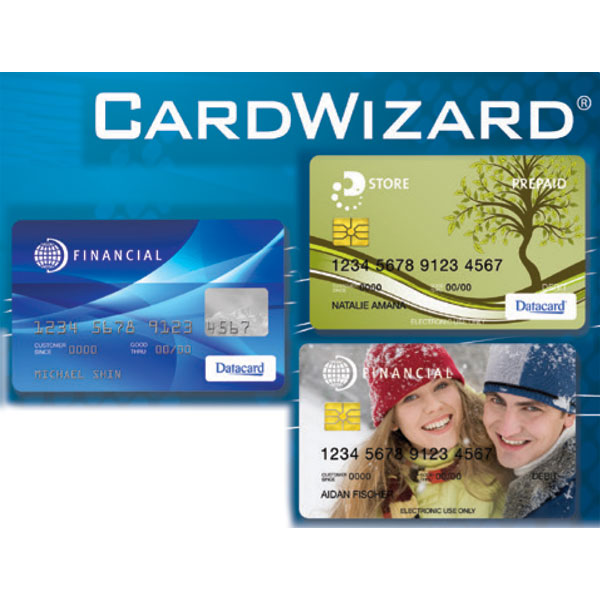 cardwizard for financial card printing